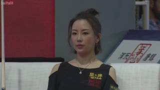 Pertarungan Dua Wanita Cantik Diatas Meja Biliard Pan Xiaoting Vs Liu Shasha