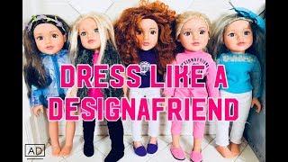 DRESS LIKE A DESIGNAFRIEND DOLL | ARGOS