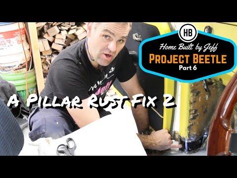 Door Pillar Rust Repair - Project Beetle