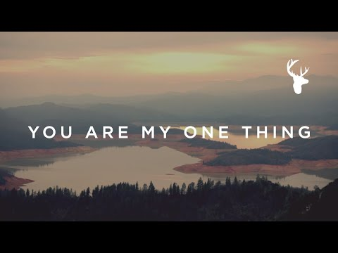 You Are My One Thing // Hannah McClure // We Will Not Be Shaken Official Lyric Video