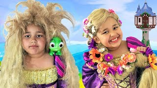 Rapunzel's Hair Disaster