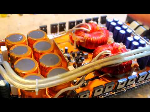 Amplifier repair Part 2 - Output section & Bench testing! thumbnail