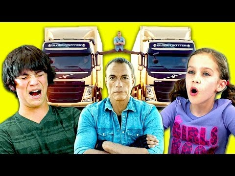Kids React To The Epic Split!