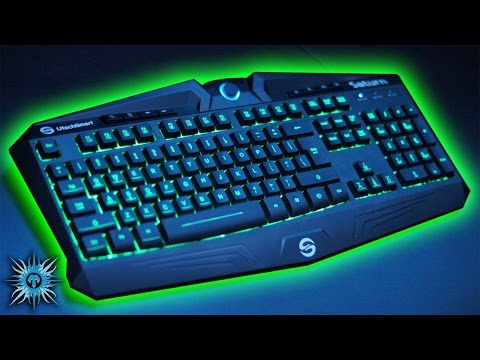 Review (Best Budget Keyboard?): UTechSmart Saturn 7 Colour Backlit Gaming Keyboard