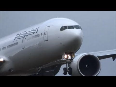 Philippines Factory Fresh 777-300ER Test Flight @ KPAE