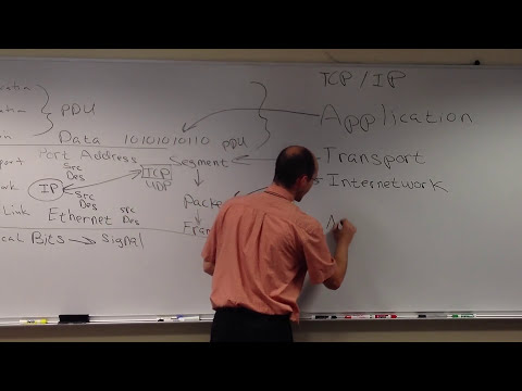 Lecture OSI and TCP/IP Models