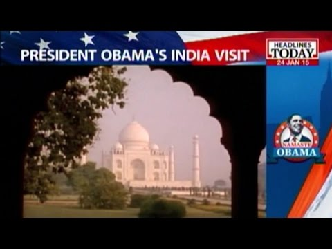 Obamas to visit Taj Mahal on 27 January