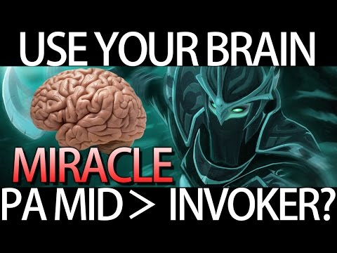 How to Mid PA vs Invoker Carry Gameplay by Miracle Dota 2