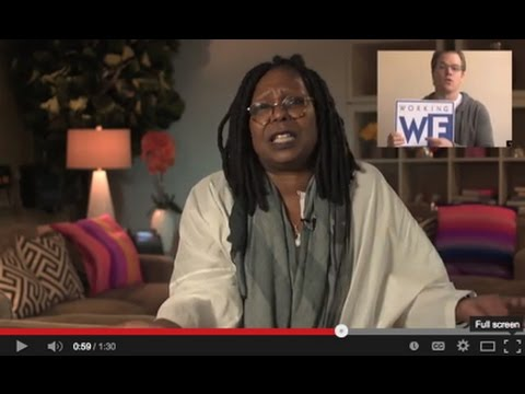Whoopi Goldberg: Vote Working Families on Tuesday