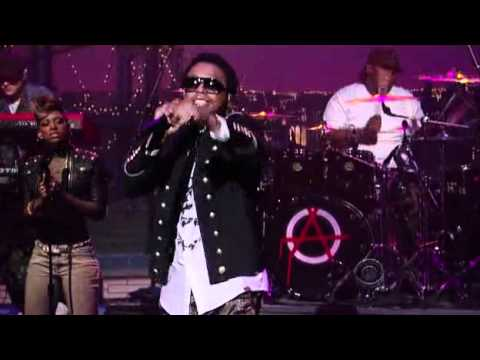 Lupe Fiasco - The Show Goes On - Late Show with David Letterman