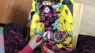 распаковка дракулауры  sweet screams monster high