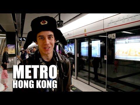 Метро в Китае (в Гонконге) - Subway in China (Hong Kong)   ВЫЖИВАЙ ТРИП #3
