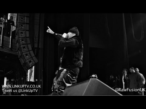French Montana Live in London 2013 | Raw Fusion Events | Link Up TV