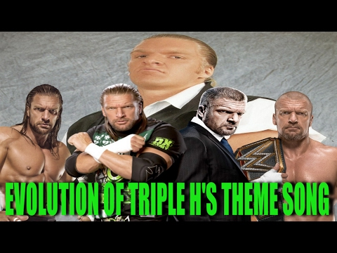 Evolution Of Triple H's Theme Song 1995 - 2017 (Inc. Factions/Stables)