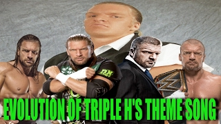 download lagu Evolution Of Triple H's Theme Song 1995 - 2017 gratis