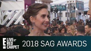 Alison Brie Addresses James Franco Allegations at SAG Awards | E! Live from the Red Carpet