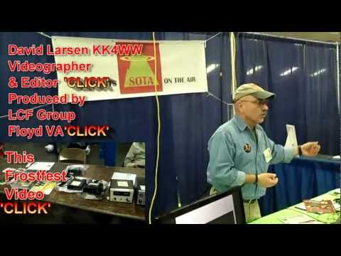 Summits on the Air 'SOTA'  Frostfest 2012  Amateur Radio KK4WW N4USA