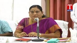 ZP Chairperson Gadipalli Kavitha Speech in Members Meet at ZP Meeting Hall | Khammam  Telugu