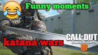 Katana Wars!! Funny moments! (Bo4) [Game wars Ep 1]