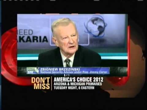 Fareed Zakaria  talks to Zbigniew Brzezinski re Iran Syria Obama and more