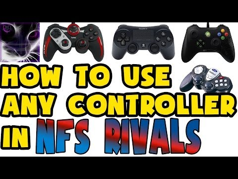 How to use any PC Controller in NFS Rivals