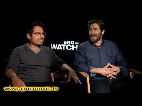 Jake Gyllenhaal And Michael Pena END OF WATCH Interview