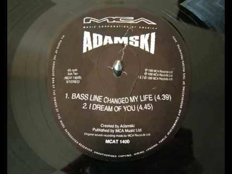 Adamski - Bass Line Changed My Life