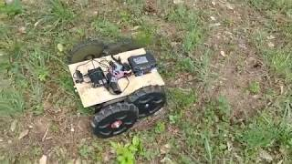 Man outsources mowing lawn to the internet (letsrobot.tv).