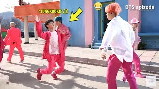 BTS JUNGKOOK makes his hyungs laugh! :)))
