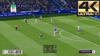 FIFA 19 4K 60 FPS Amazing Realism LIVE Broadcast Camera Chelsea vs Liverpool