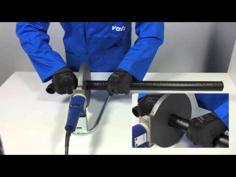 HDPE Manual butt-welding