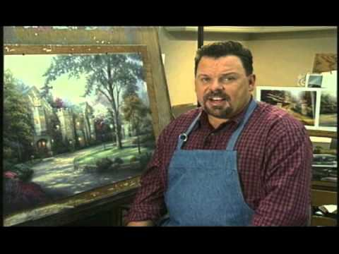 Thomas Kinkade - Inside Ivy Gate Studio