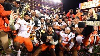 Clemson Tigers 2018-19 National Championship Season Highlights