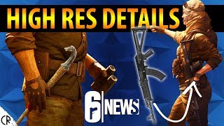High Res DETAILS! New Operators - Morocco Wind Bastion - 6News - Tom Clancy's Rainbow Six Siege