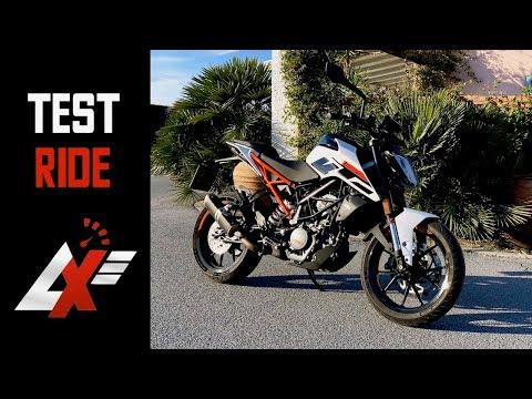 2017 KTM 125 Duke TEST RIDE (RAW SOUND & TOP SPEED)