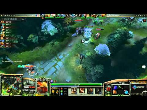 The Alliance vs 4FC Game 1   The Defense 4 DOTA 2   TobiWan