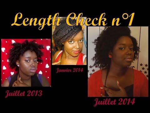 1 an après mon Big Chop | Length Check (1 year natural hair journey)
