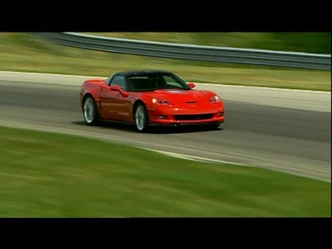 Corvette Stingray  on Motorweek Road Test  2009 Chevrolet Corvette Zr1