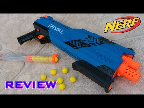 [REVIEW] Nerf Rival Atlas XVI-1200 Unboxing. Review. & Firing Test