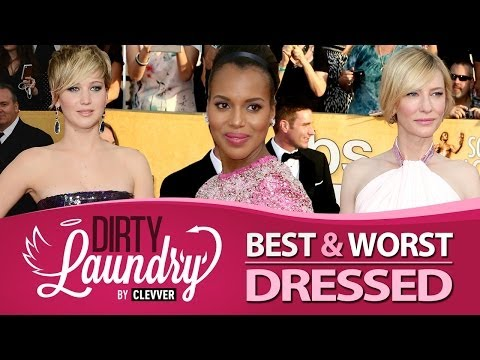 Best & Worst Dressed SAG Awards 2014 - Screen Actor s Guild Awards - Dirty Laundry