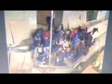 Dozens hurt in balcony collapse at Indonesian stock exchange