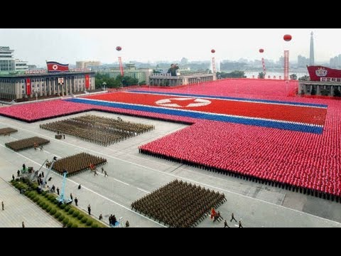 North Korea 2013 Military & Civilian Parade — Full Version