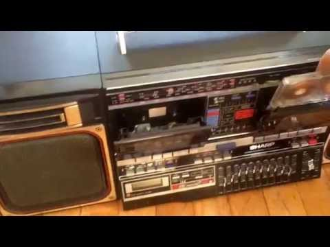 Sold ! Sharp GF 800 Boombox Ghettoblaster for sale Chicago $350 plus ship boomboxbryan62@gmail.com