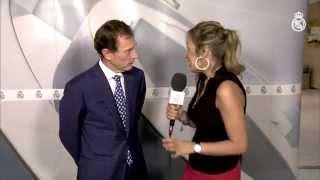 Entrevista a Emilio Butragueño después del partido frente al Málaga