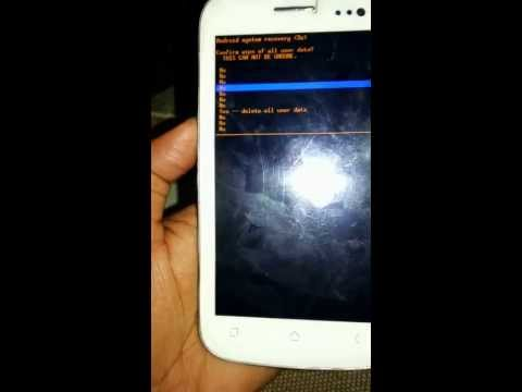 Micromax canvas A110 Hard Reset