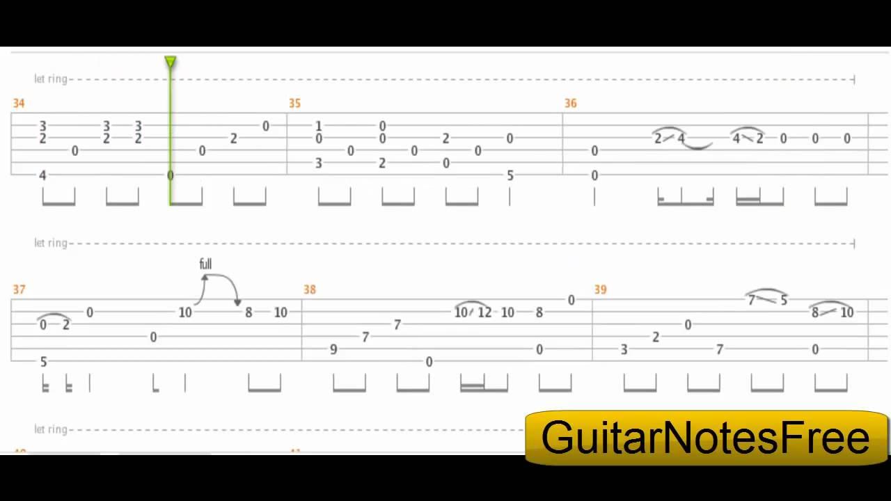 Wonderful Tonight - Sungha Jung Guitar Tab HD - YouTube