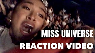 AUDIENCE VIEW REACTION VIDEO (Miss Universe 2018)