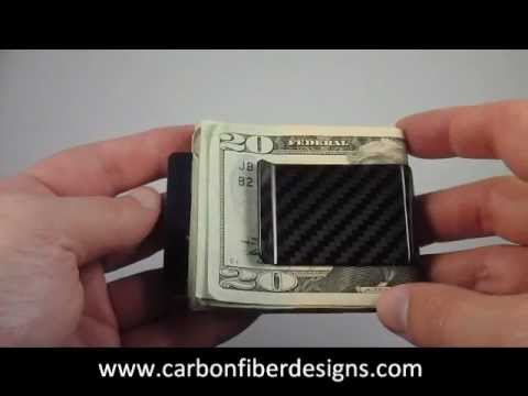 Koolstof Carbon Fiber Money Clip