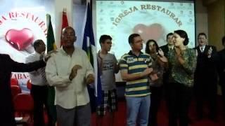 GRANDIOSA COMEMORAÇÃO DO 4º ANIVERSARIO DA IGREJA EVANGELICA PENTECOSTAL RESTAURAR DE CUIABÁ-MT ANIVERSARIO