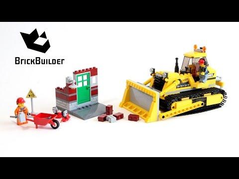 Lego City 60074 Bulldozer - Lego Speed Build